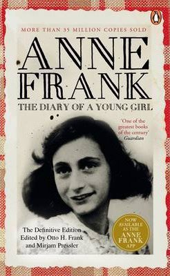 The Diary of a Young Girl Anne Frank book cover