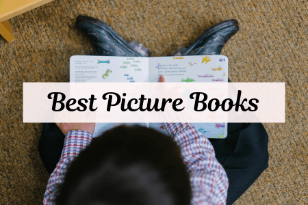 Best Picture Books with children reading a picture book