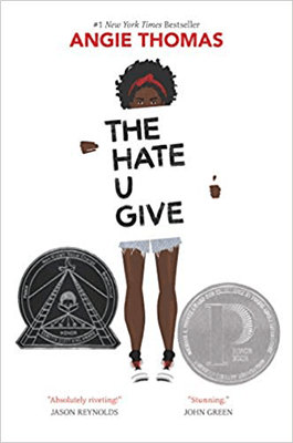 Books That Make You Think The Hate U Give by Angie Thomas book cover