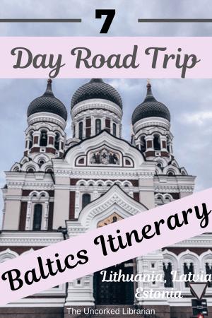 Week Long Baltics Itinerary Pin
