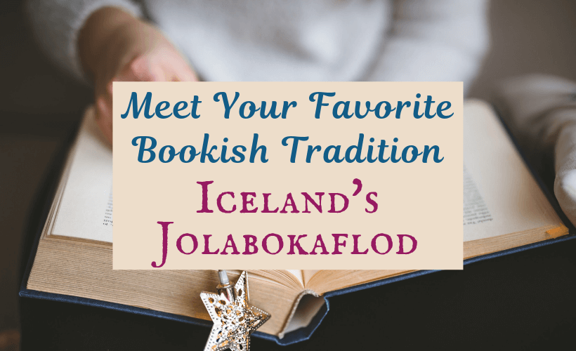 Iceland's Jolabokaflod Tradition or Book Flood