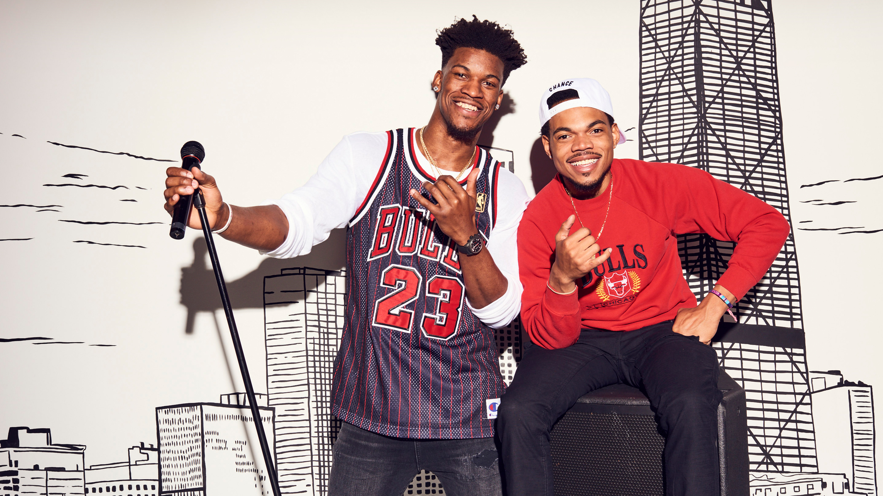 No Labels: Chance the Rapper and Jimmy Butler