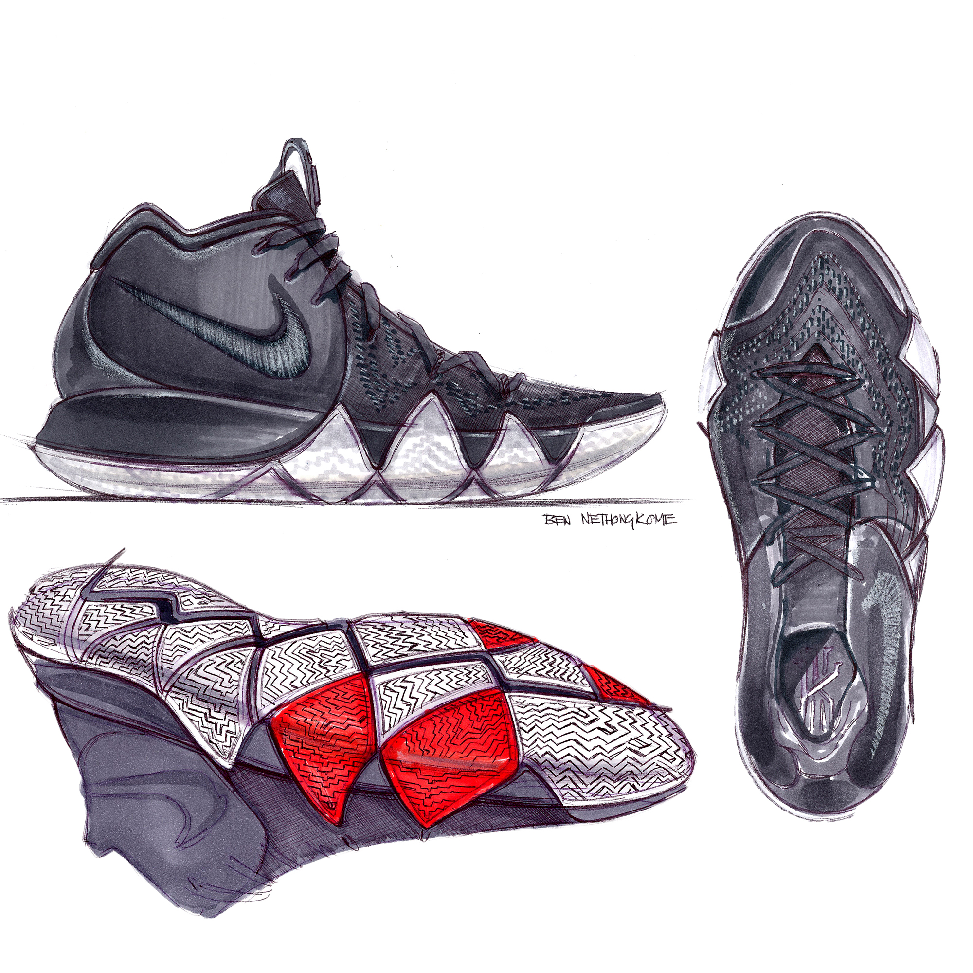 Kyrie Irving Shoes 4 Halloween