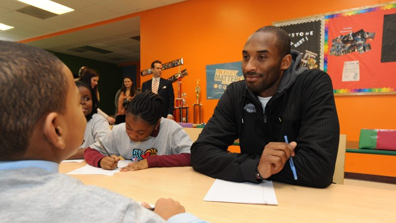 Kobe Bryant's charitable work included 20 years with the Make-A-Wish Foundation