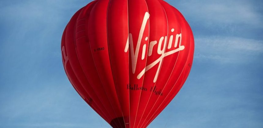 Virgin-balloon