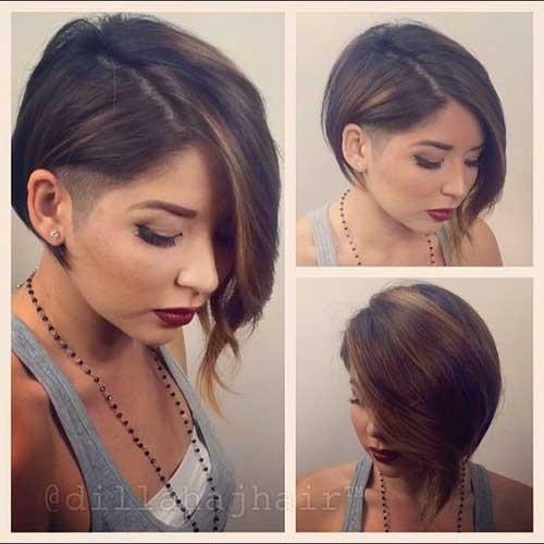 Asymmetrical-Short-Hair Cute Girls Choice: Short Haircuts