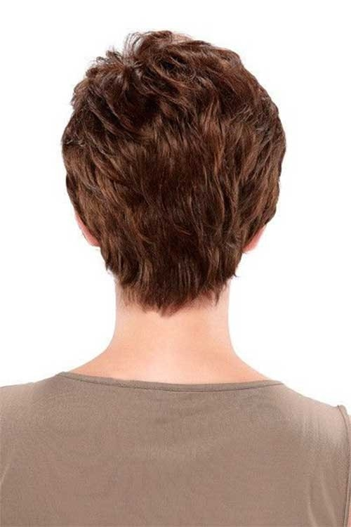 Back-View Superb Short Pixie Haircuts for Women