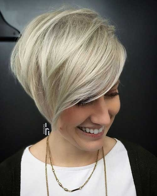 Best-Blonde-Short-Bob-Haircut Blonde Short Hair Ideas for Ladies
