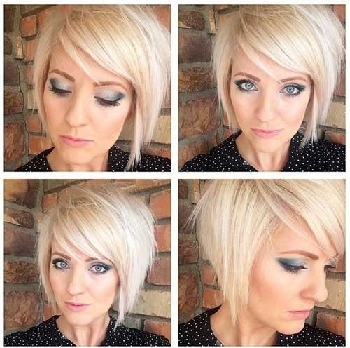 Blonde-Bob Remarkable Pics of Trendy Short Hairstyles for Women