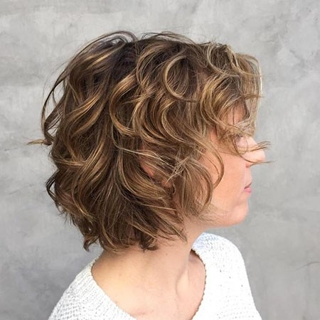 Blonde-Curly-Hair Haircuts for Short Curly Hair