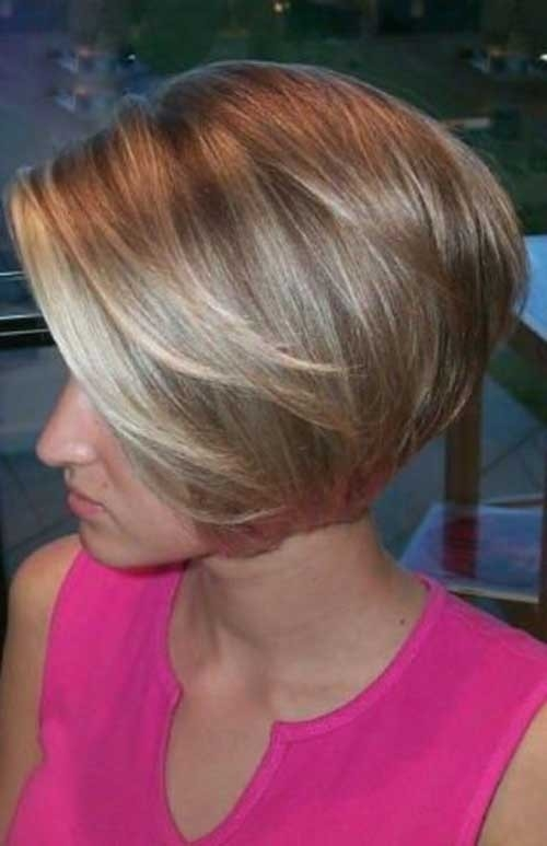 Blonde-Fringe-Bob Chic Short Bob Haircuts for 2018