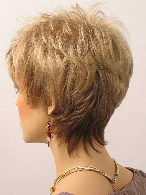 Blonde-Modern-Short-Hair Best Short Haircuts for Older Women