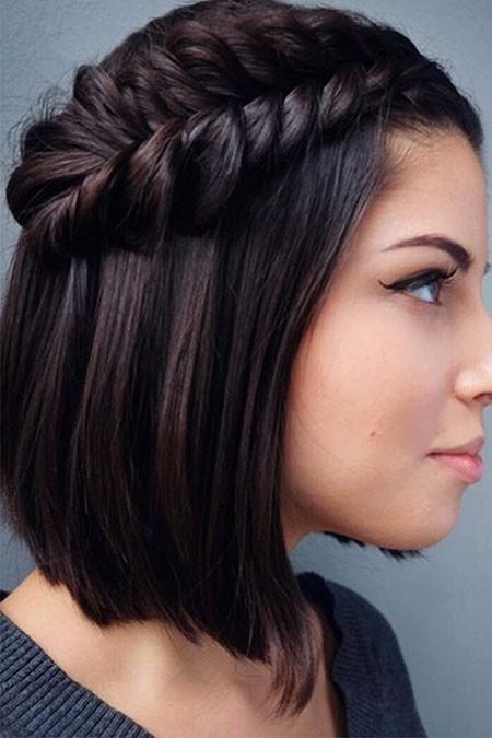 Braided-Black-Hair Easy Braids for Short Hair