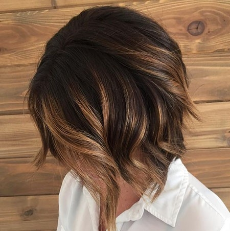 Brown-Hair-Color-2 Balayage Ombre Short Hair