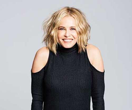 Chelsea-Handler-New-Hair Remarkable Pics of Trendy Short Hairstyles for Women