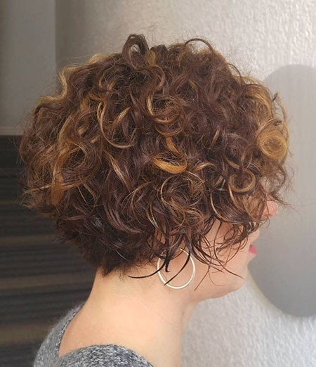Curls-for-Middle-Age-Woman Haircuts for Short Curly Hair