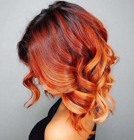 Cute-Hair Short Red Hair Color Ideas