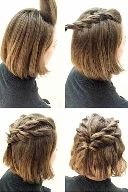 Cute-Prom-Hair-for-Short-Hair-10 Prom Hairstyles for Short Hair