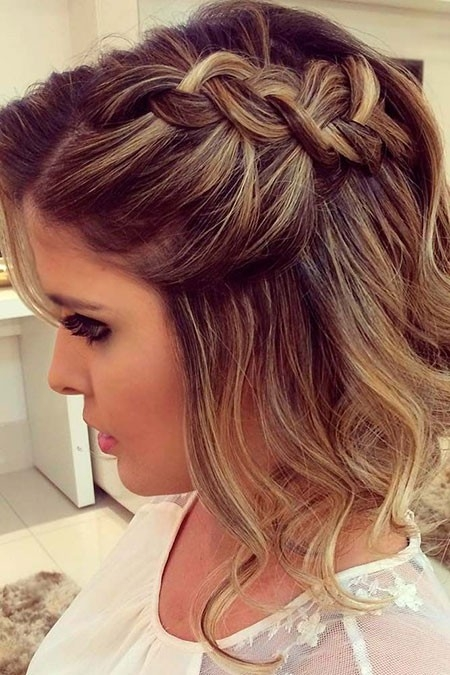 Cute-Prom-Hair-for-Short-Hair-3 Prom Hairstyles for Short Hair