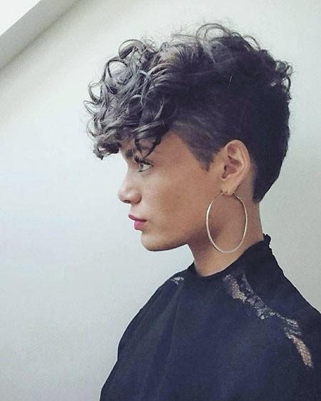 Cute-Short-Hair Haircuts for Short Curly Hair