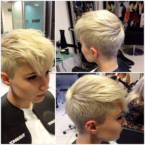 Faux-Hawk-Pixie-Cut Long Pixie Haircuts You Should See