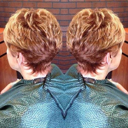 Ginger-Short-Haircut-Back-View-for-Ladies-Over-70 Best Short Haircuts For Women Over 70