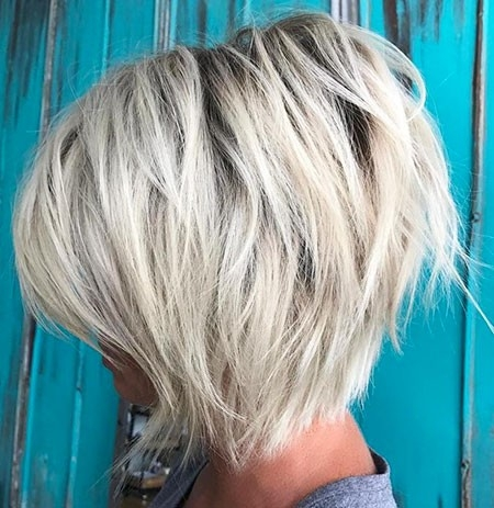 Gorgeous-Bob-Layered-Hair New Short Layered Hairstyles 2018