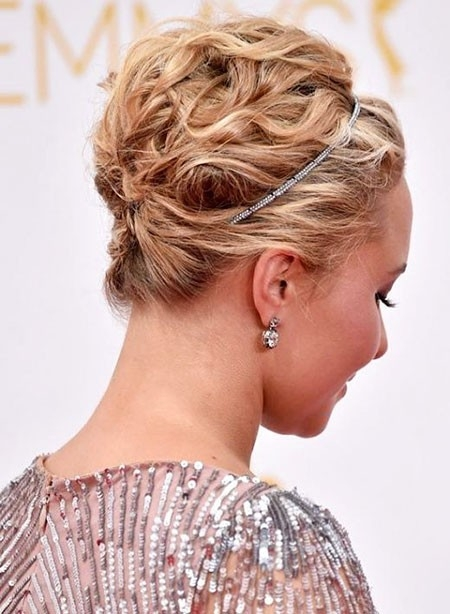 Gorgeous-Updo Updo Hairstyles for Short Hair