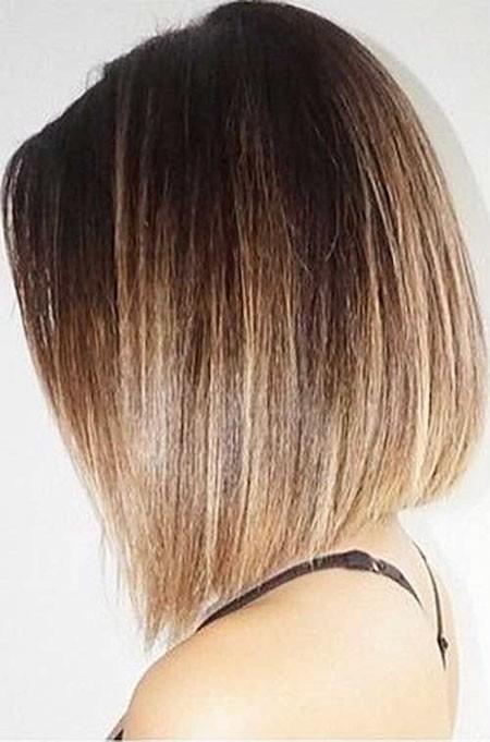 Highlight-Short-Hair-2017 New Short Straight Hairstyles 2018