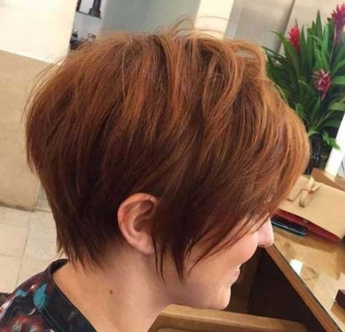 Splendid Layered Short Haircuts for Ladies