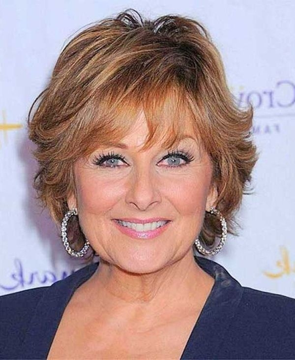 Layered-Short-Hair-for-Women-Over-50-1 Gorgeous Short Hairstyles for Women over 50