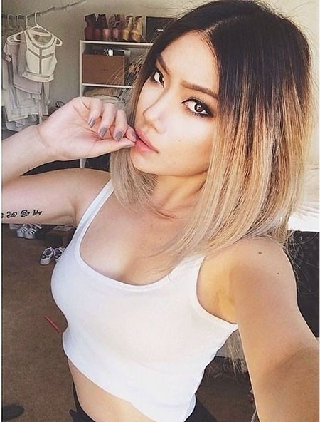 Ombre-Hairtyle-for-Short-Hair Ombre Hairstyles for Short Hair
