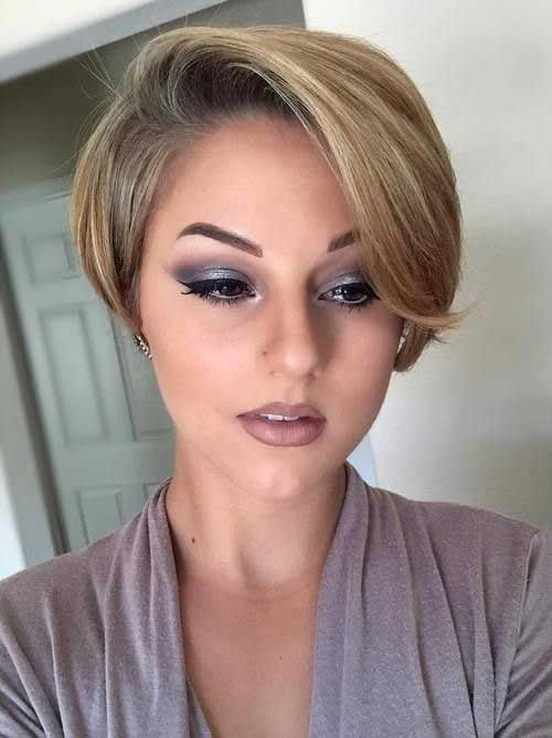 Pixie-Bob-Cut-with-Bangs Chic Short Bob Haircuts for 2018