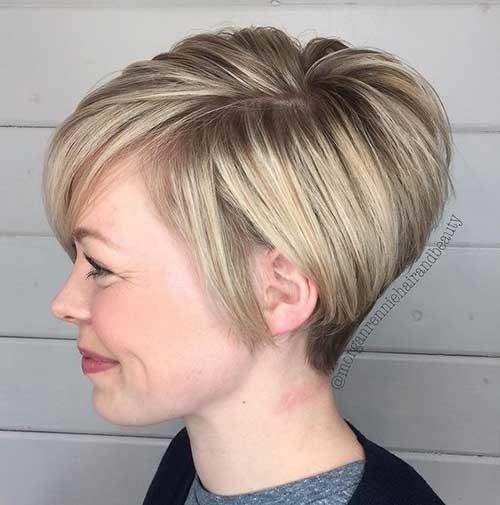Pixie-Cut-3 Blonde Short Hair Ideas for Ladies