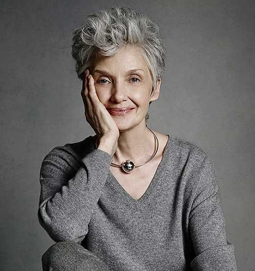 Pixie-Style Short Haircuts for Older Women 2018-2019