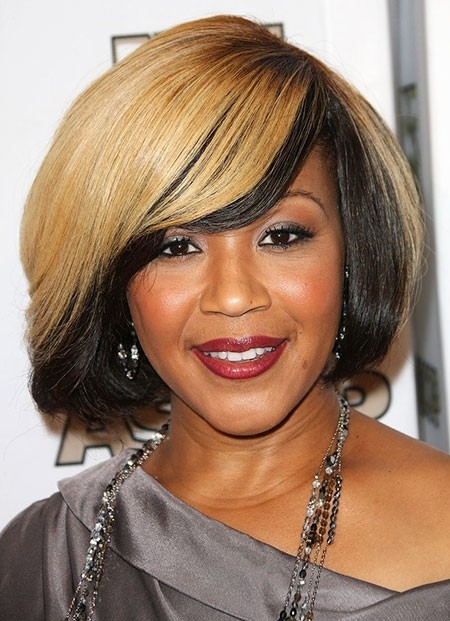 Pretty-Bob-Hairstyle New Short African Haircuts for Ladies