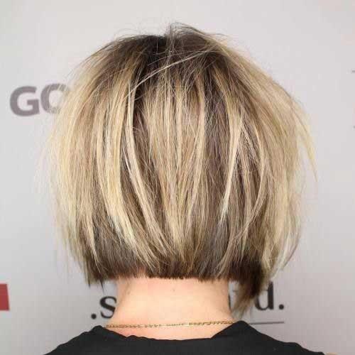 Short-Bob-Cut-Back-View Chic Short Bob Haircuts for 2018