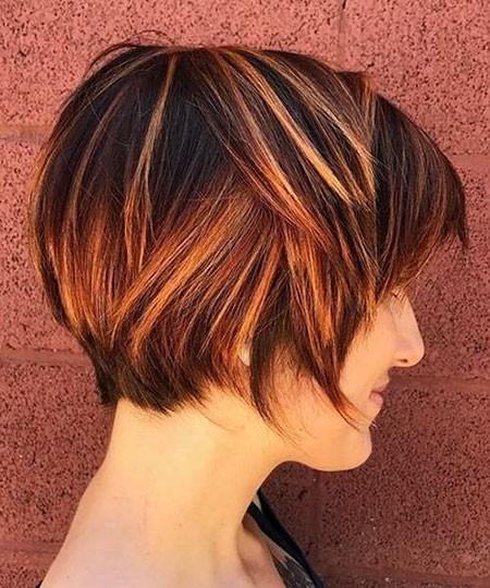 Short-Bob New Short Layered Hairstyles 2018