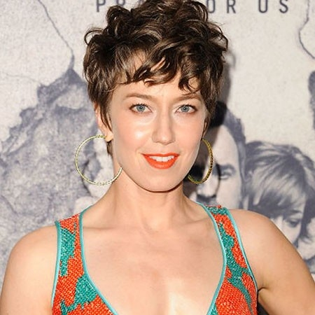 Short-Curly-Hairstyle Short Trendy Hairstyles 2018
