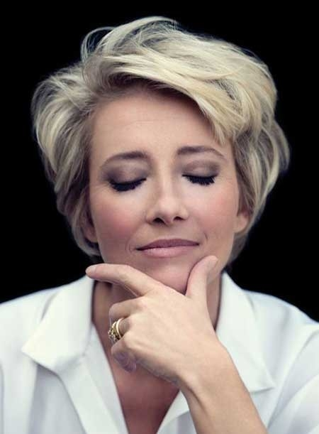 Short-Haircut-for-Older-Women Best Short Haircuts for Older Women