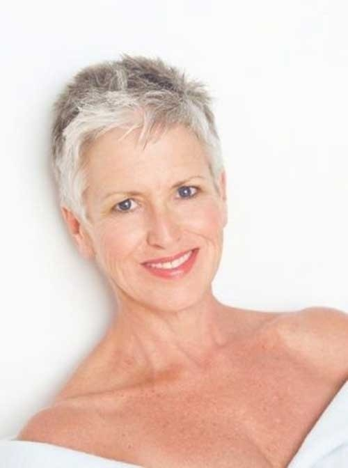 Short-Haircut-for-Short-Pixie Short Haircuts for Older Women 2018-2019