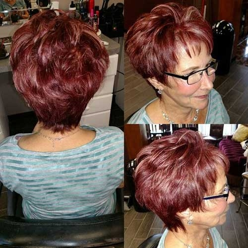 Short-Haircut-for-Women-Over-40 Best Short Haircuts for Older Women