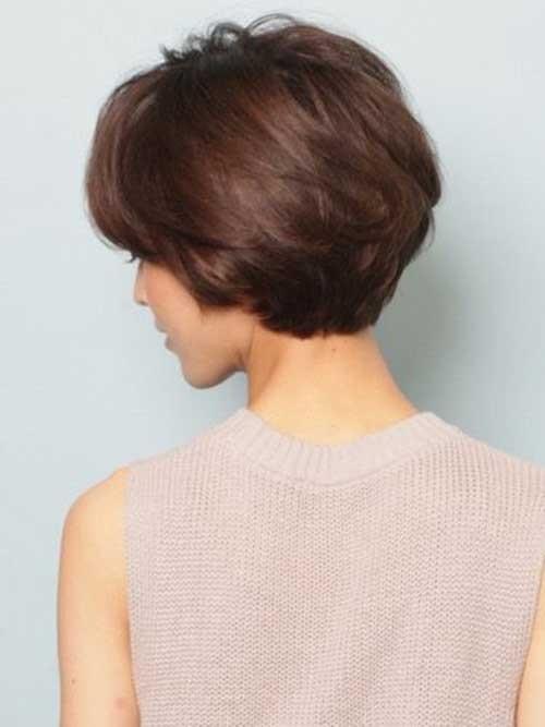 Short-Haircut-with-Full-Backs Short Haircuts for Older Women 2018-2019
