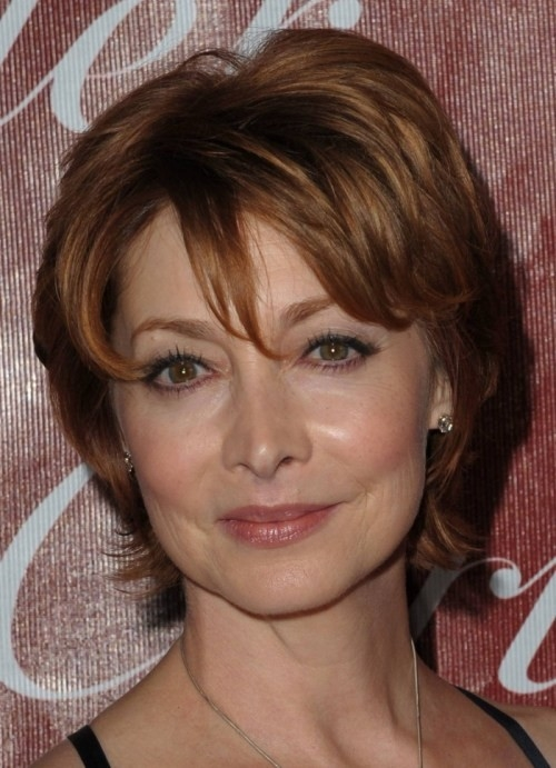 Short-Haircuts-for-Older-Women Gorgeous Short Hairstyles for Women over 50