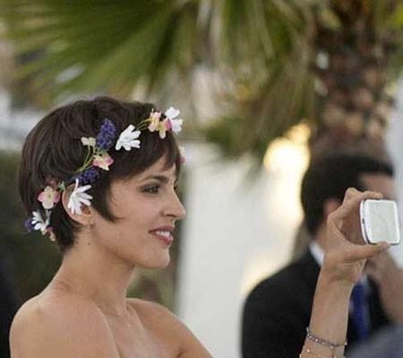 Short-Layered-Hair-2 Wedding Hairstyles for Short Hair