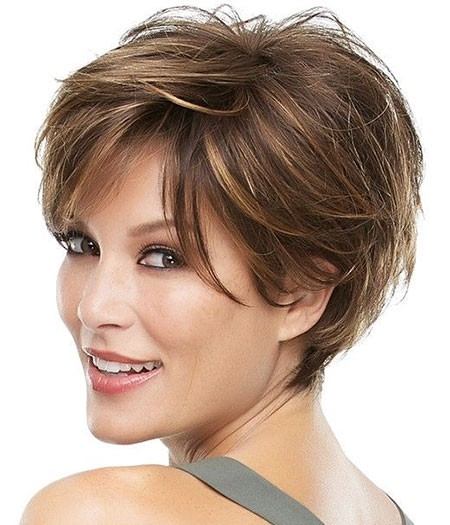 Short-Layered-Hair Great Short Hairstyles for Women 2018