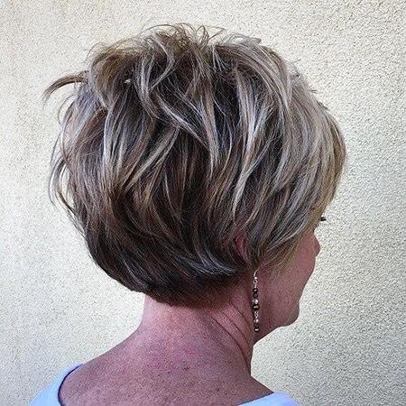 Short-Layered-Hairtyle New Short Layered Hairstyles 2018