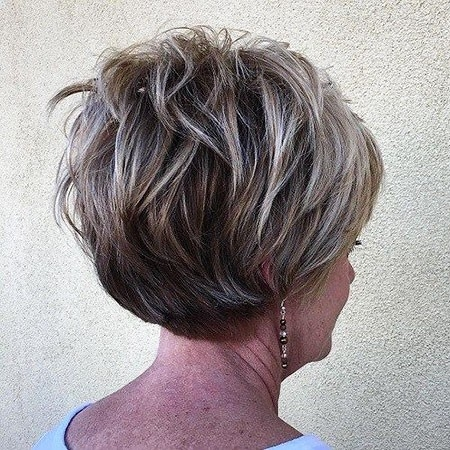Short-Layered-Hairtyle New Short Layered Hairstyles 2018
