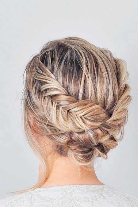 Simple-Hairtyle Updo Hairstyles for Short Hair