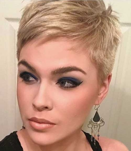 Spiky-Pixie-Style Superb Short Pixie Haircuts for Women